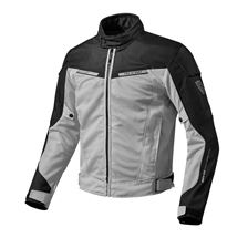 REV'IT! Airwave 2 Jacket Zilver-Zwart