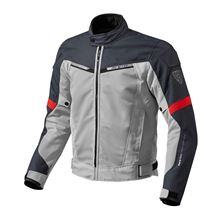 REV'IT! Airwave 2 Jacket Zilver-Rood