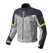 REV'IT! Airwave 2 Jacket Argent-Jaune Fluo