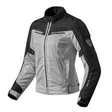 REV'IT! Airwave 2 Jacket Lady Zilver-Zwart