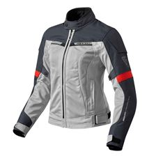 REV'IT! Airwave 2 Jacket Lady Argent-Rouge