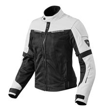 REV'IT! Airwave 2 Jacket Lady Wit-Zwart