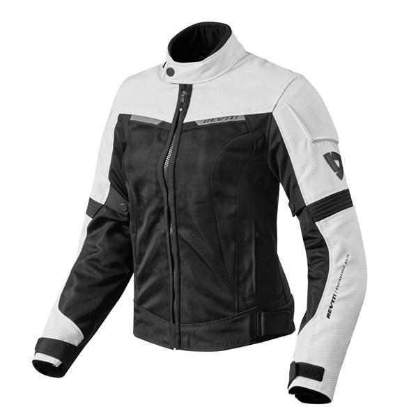 REV'IT! Airwave 2 Jacket Lady Blanc-Noir