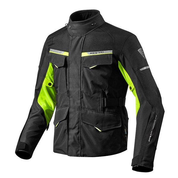 REV'IT! Outback 2 Noir-Jaune Fluo