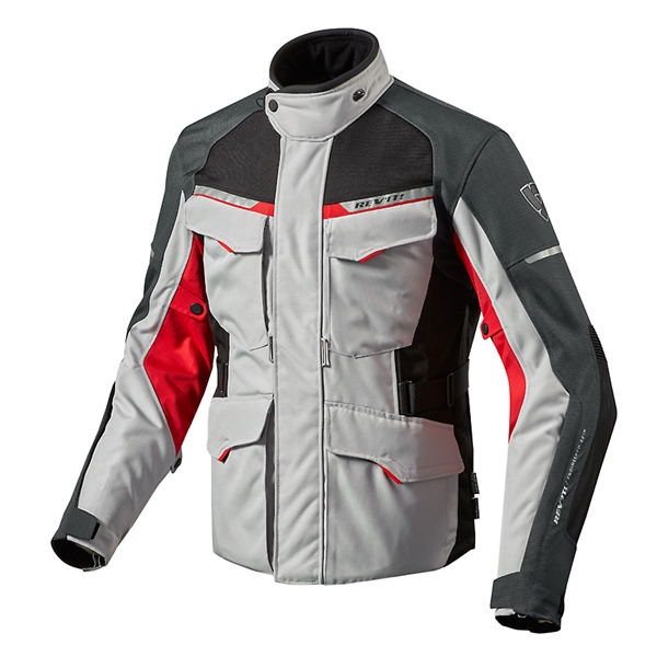 REV'IT! Outback 2 Zilver-Rood