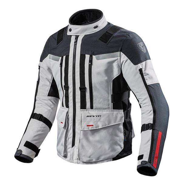 REV'IT! Sand 3 Jacket Zilver-Antraciet