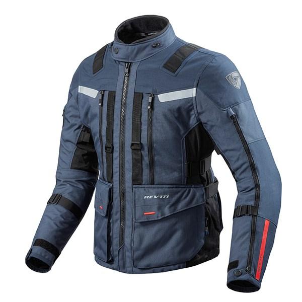 REV'IT! Sand 3 Jacket D. Blauw-Zwart