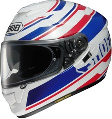 SHOEI GT-Air Primal Wit-Blauw-Rood TC-2
