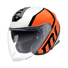 SCHUBERTH M1 Flux Fluo Oranje-Wit