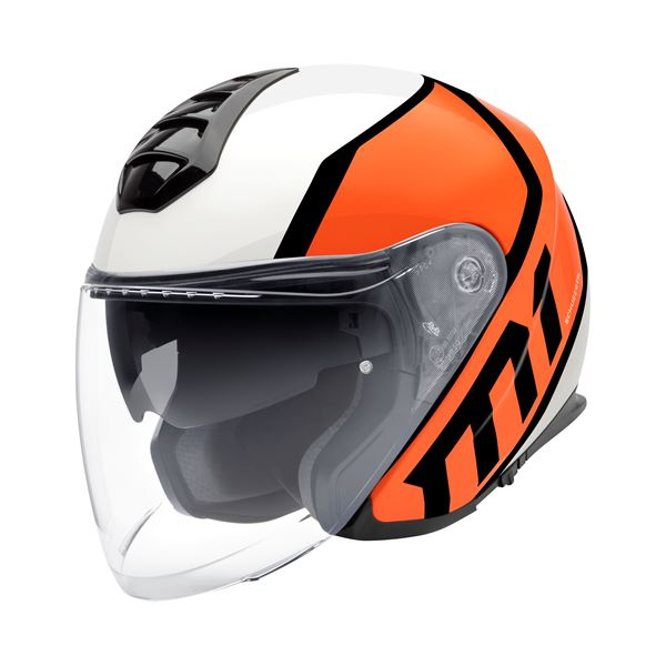 SCHUBERTH M1 Flux Orange Fluo-Blanc