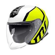 SCHUBERTH M1 Flux Fluo Geel-Wit
