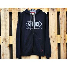SHOEI Hoody Zip noir