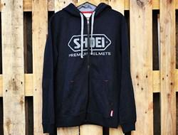 SHOEI : Hoody Zip - zwart