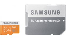 Micro SD kaart 64 GB class 10 + adapter