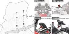 GIVI Montagekit Smart Bar / Smart Mount 06SKIT