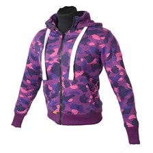 BOOSTER Hoodie Kevlar Core Lady Lila