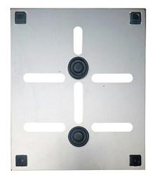 RAD Porte plaque cyclomoteurs aluminium
