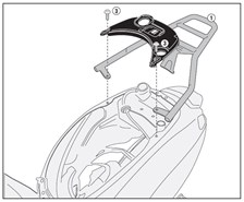 GIVI Topkofferhouder Monolock - SR SR5608