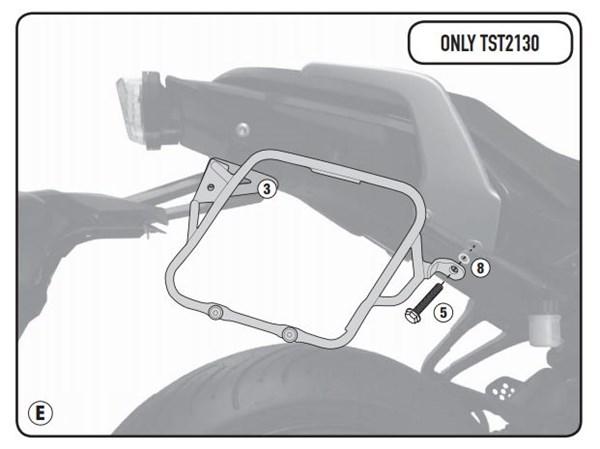 GIVI Houder voor ST601 / ST605 TST2130