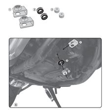 GIVI Kit de fixation carter RP1144KIT