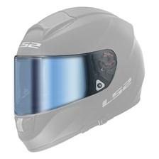 LS2 Vizier FF-MHR-80 Blauw spiegelvizier
