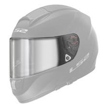 LS2 Vizier FF-MHR-80 Zilver spiegelvizier