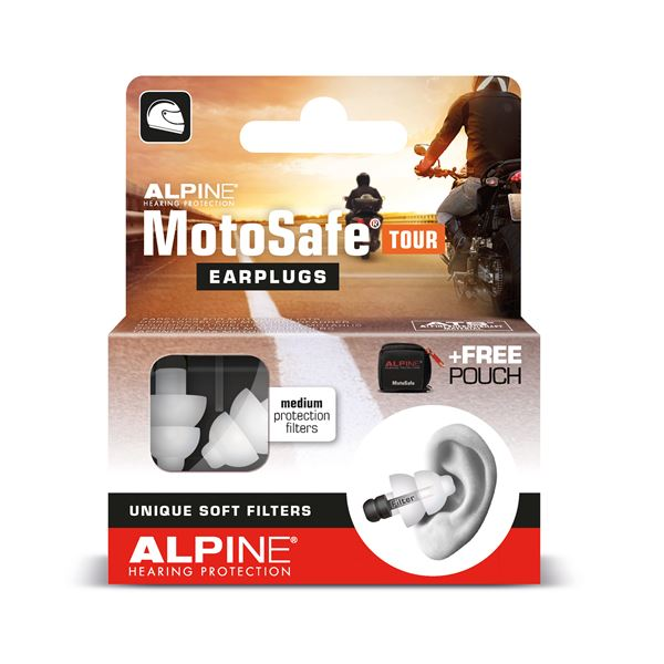 ALPINE MotoSafe Tour Bouchons d'oreille