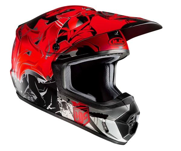 HJC CS-MX II Graffed Rouge
