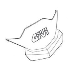 GIVI Enjoliveur couvercle avec logo Z2513R