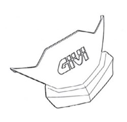 GIVI Dekselcover met logo