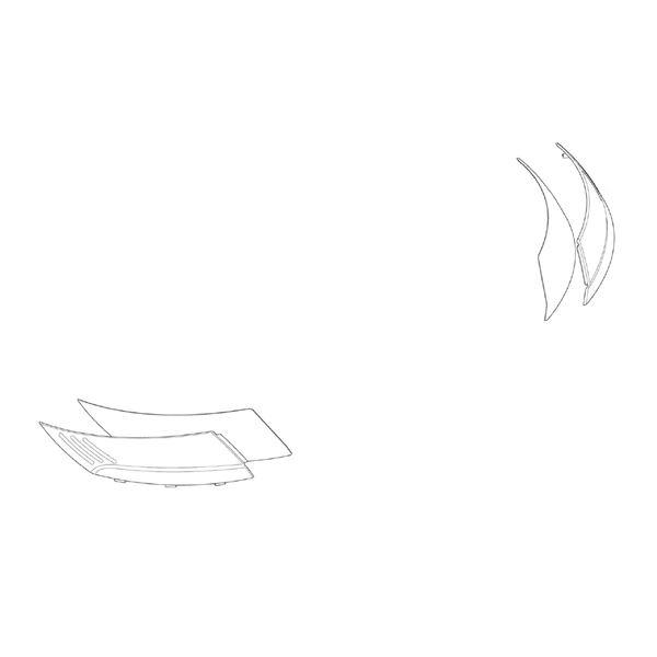 GIVI Zijdelingse reflectoren Z4201FR