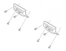 GIVI Plaques de fixation Monokey Z9509R