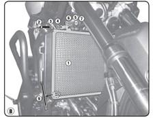 GIVI Protection de radiateur PR2132