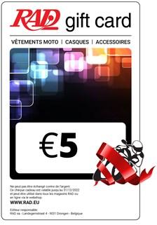 RAD Franstalige Digitale Cadeaubon afdrukbare bon