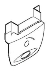 GIVI Sluiting zonder slot Onderaan - Z368N