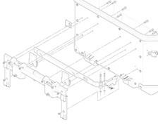 GIVI Système de fixation arrière Outback Gauche - Z4810SXMR
