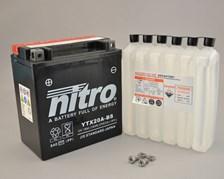 NITRO Batterie sans entretien YTX20A-BS