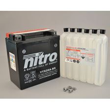NITRO Onderhoudsvrije batterij YTX20A-BS