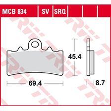 TRW SRQ remblokken MCB834SRQ