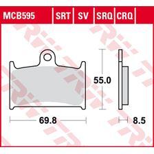 TRW SRT remblokken MCB595SRT