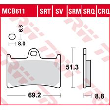 TRW SRT remblokken MCB611SRT