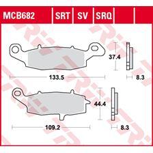 TRW Plaquettes de frein SRT MCB682SRT