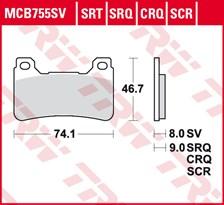 TRW SRT remblokken MCB755SRT