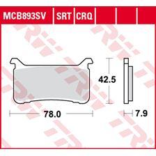 TRW SRT remblokken MCB893SRT