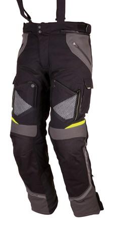 MODEKA Panamericana Pants Zwart-Geel