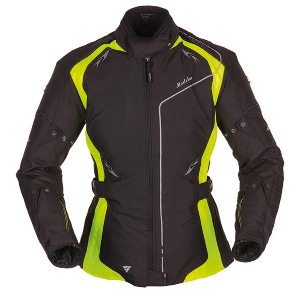 MODEKA Scarlett Lady jacket Zwart-Geel