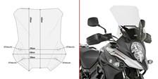 GIVI Verhoogd transparant windscherm - ST D3112ST