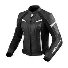 REV'IT! Xena 2 Jacket Noir - Blanc