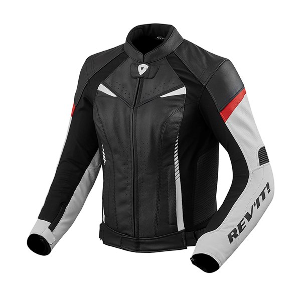REV'IT! Xena 2 Jacket Blanc - Rouge