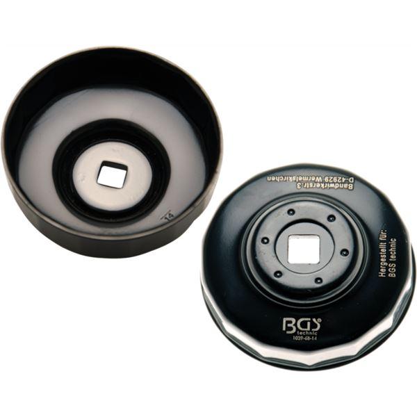 BGS TECHNIC Clé pour filtre à huile Ø 68mm 14 côtés